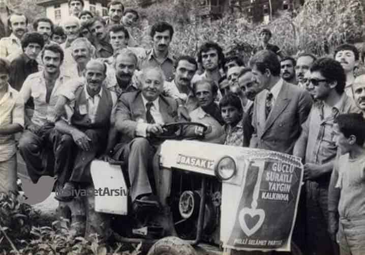 Arşiv fotoğraflarıyla Türkiye siyaseti