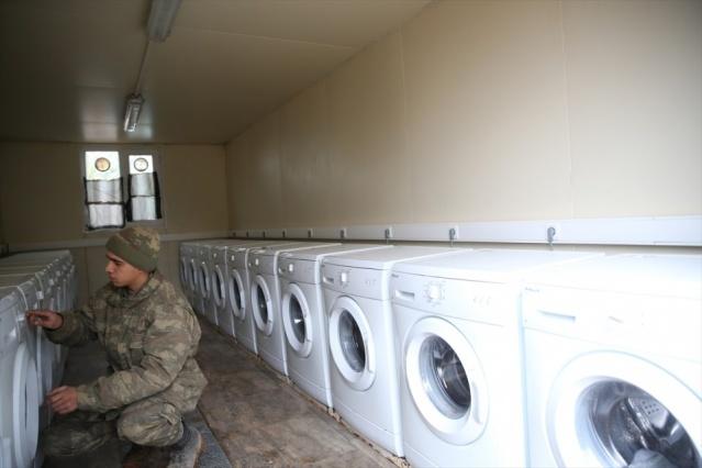 İşte Fırat Kalkanı'ndaki askerlerin yaşamı