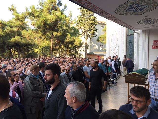 Erkan Malkoç'u binlerce kişi uğurladı