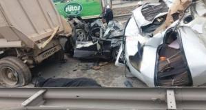 Gebze'de feci kaza 1 ölü ve çok sayıda yaralı var