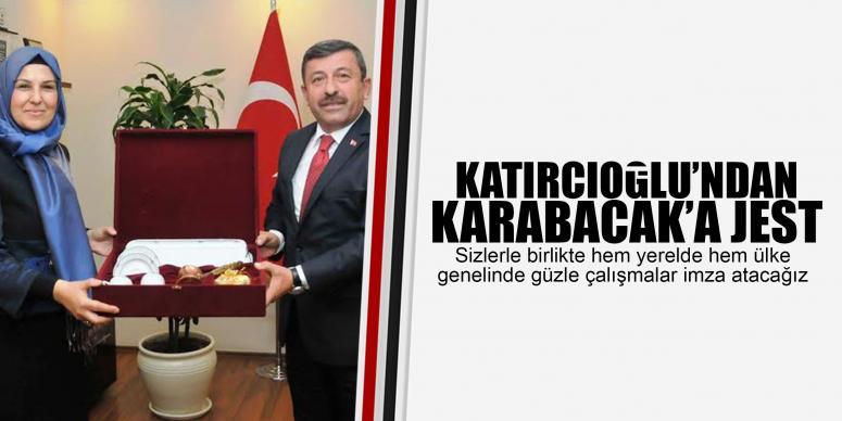 KATIRCIOĞLU'NDAN KARABACAK'A JEST