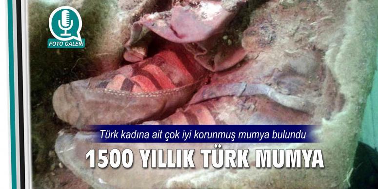 1500 yaşında Türk mumya