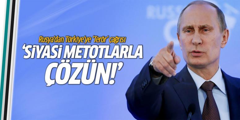 Rusya'dan Türkiye'ye 'Güneydoğu' çağrısı