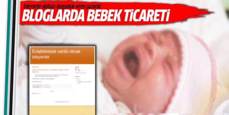 İnternette kan donduran bebek ticareti