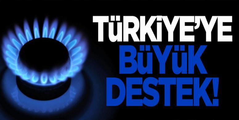 Türkiye'ye büyük destek