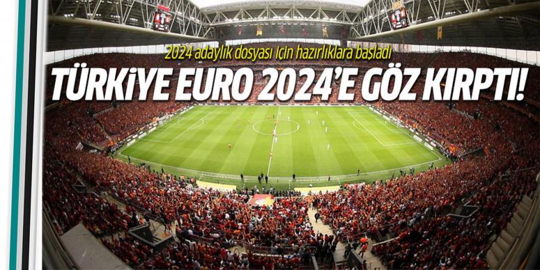 Türkiye EURO 2024'e aday