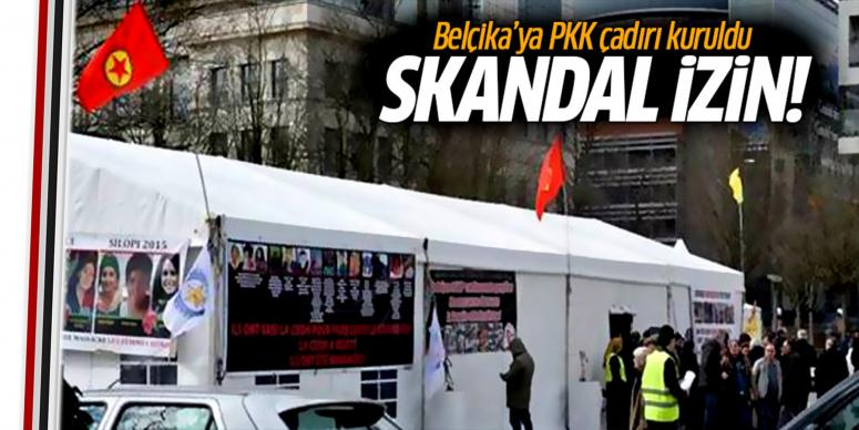 PKK çadırına izin verdi