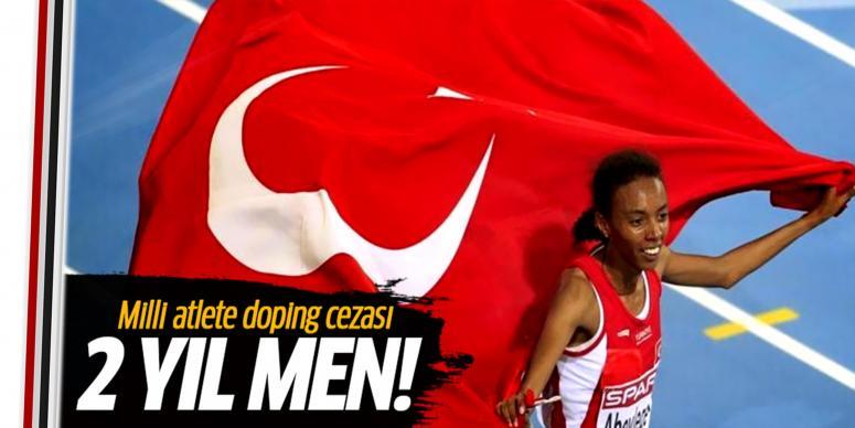 Milli atlet Elvan Abeylegesse'ye 2 yıl ceza