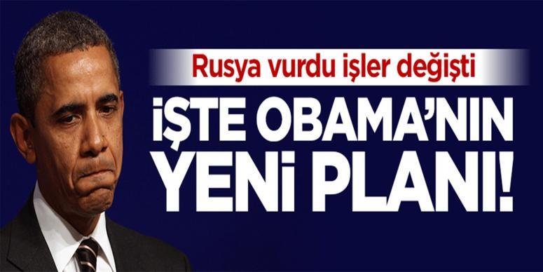 İşte Obama'nın Suriye'deki yeni planı!