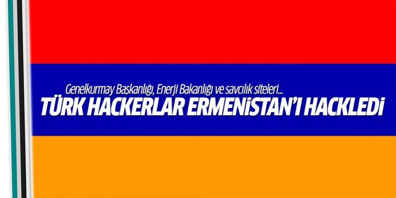 Türk hackerlar Ermenistan'daki siteleri hackledi