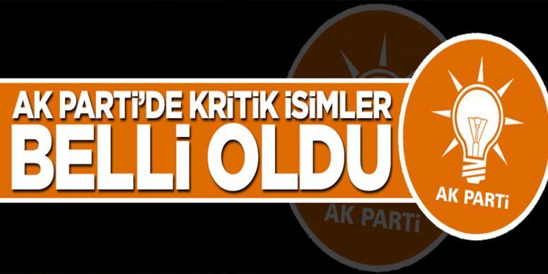 AK Parti'de kritik istesi belli oldu