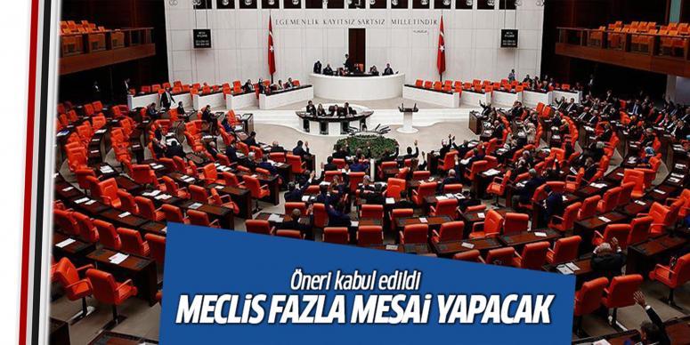 Meclis yasama yılı sonuna kadar yoğun