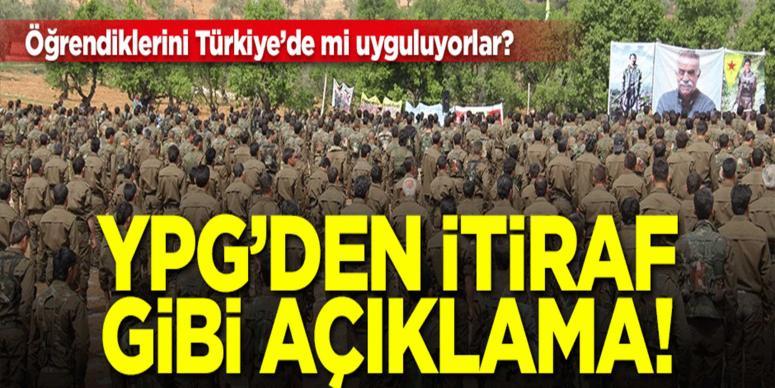 YPG: Batılılardan askeri eğitim alıyoruz