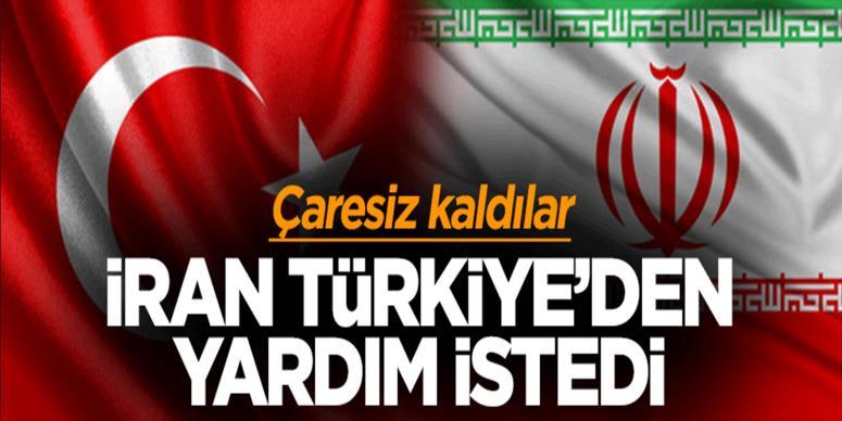 İran Türkiye'den yardım istedi