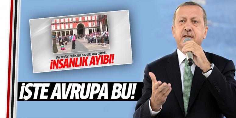 Erdoğan'dan Hollandalılara mülteci tepkisi!
