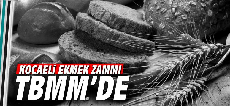 Kocaeli'deki ekmek zammı TBMM'de