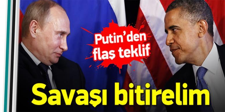 Rusya'dan Suriye'de ateşkes ilanı teklifi