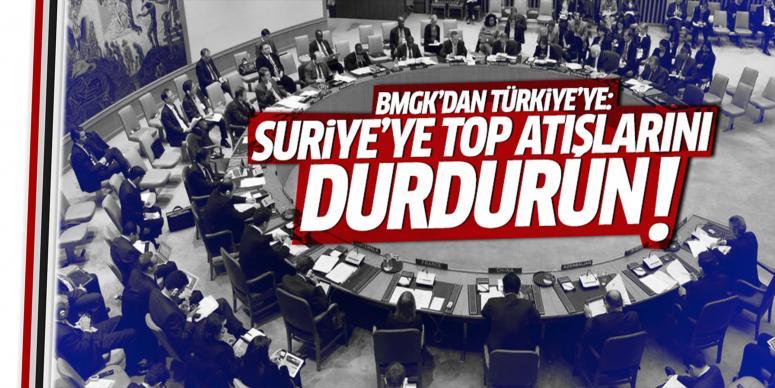 BMGK'dan Türkiye'ye çağrı