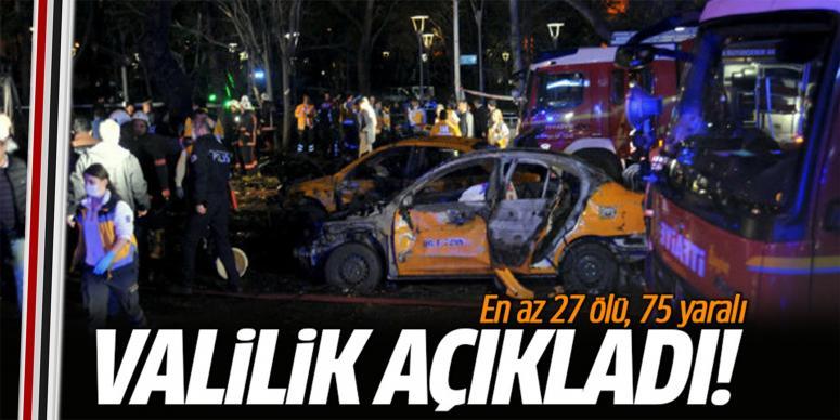 27 kişi öldü, 75 kişi yaralandı!