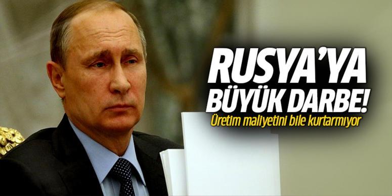 Rusyaya darbe üstüne darbe