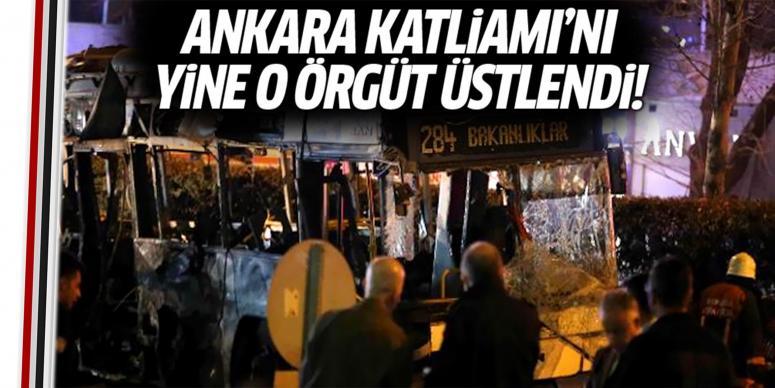 Ankara Katliamı'nı yine o örgüt üstlendi