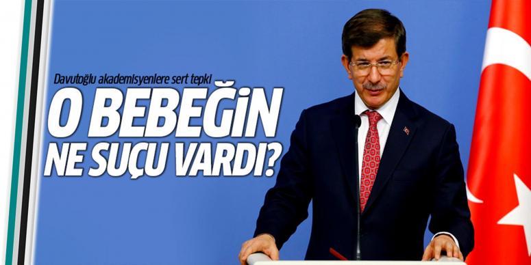Ahmet Davutoğlu akademisyenlere seslendi