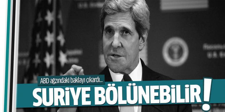 Suriye bölünüyor!