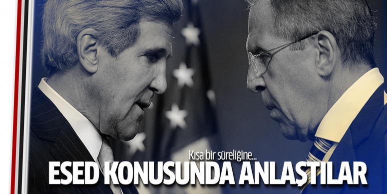 Rusya ile ABD Esed konusunda anlaştı