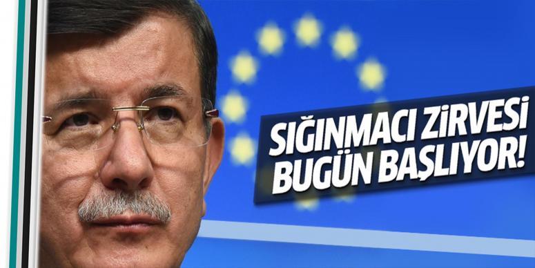 Brüksel'de sığınmacı zirvesi yapılacak!