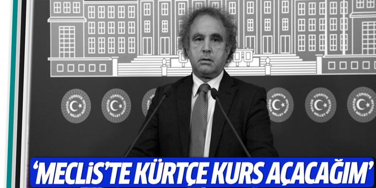 Meclis'te Kürtçe kurs açacağım