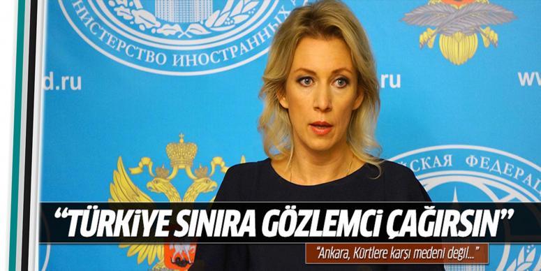 Türkiye sınıra uluslararası gözlemci çağırsın