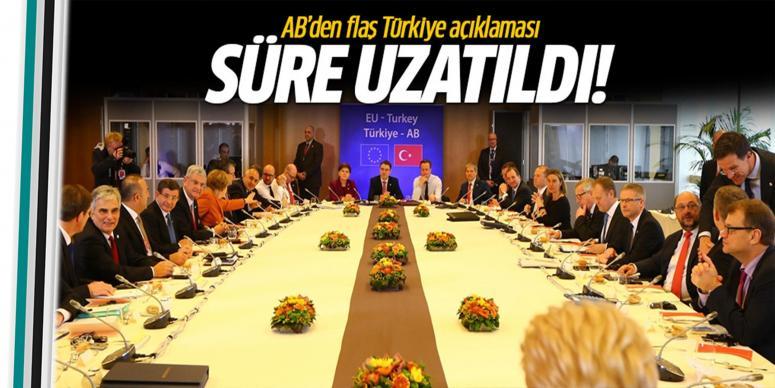 Türkiye-AB Zirvesi'nde sürpriz karar!