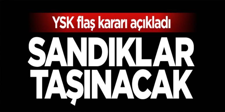 YSK kararını verdi: Yüksekova'da sandıklar taşınacak