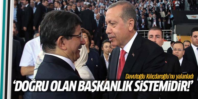 Davutoğlu Kılıçdaroğlu'nu yalanladı