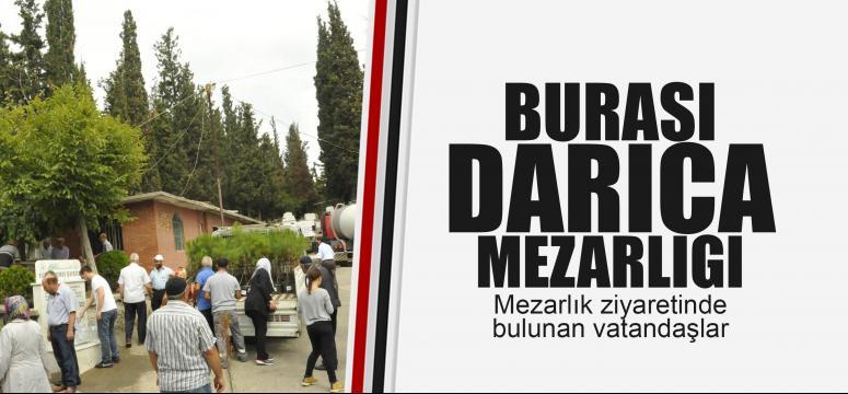 Darıca'da mezarlık ziyareti