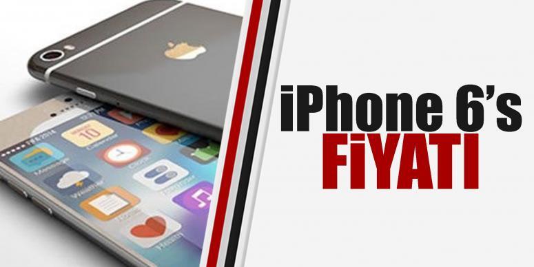 iPhone 6S'in fiyatları belli oldu!