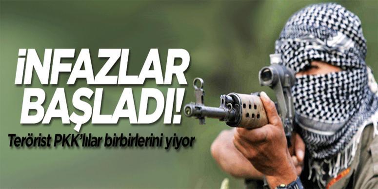 Terör örgütü PKK'da infazlar başladı!