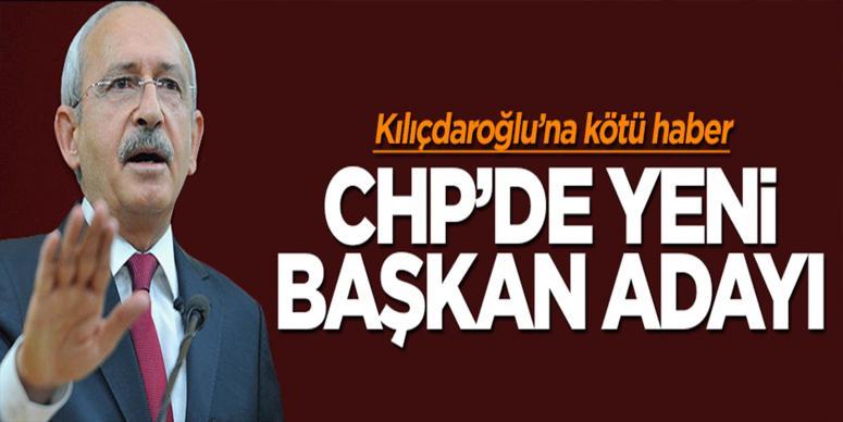 CHP'de yeni başkan adayı