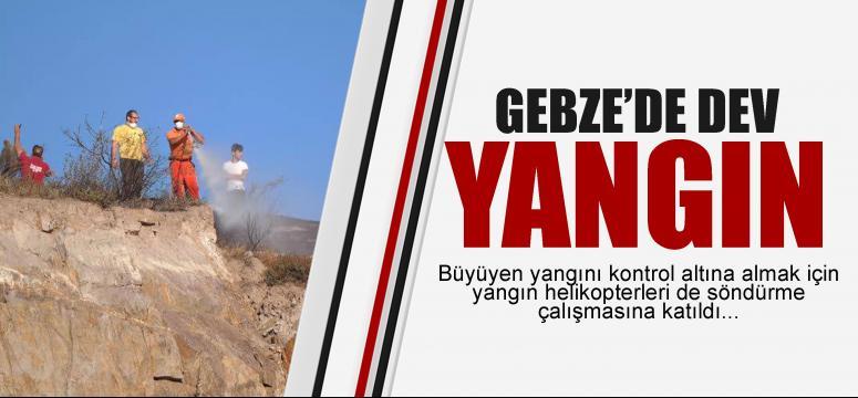 Gebze'de dev yangın!