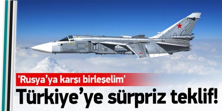 Türkiye'ye sürpriz teklif