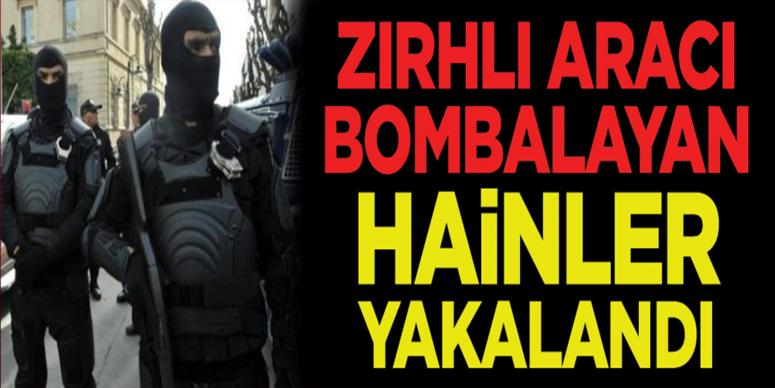 Zırhlı araç bombacısı PKK'lılar yakalandı!