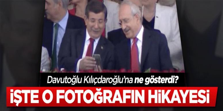 Davutoğlu ile Kılıçdaroğlu ne konuştu? İşte o fotoğrafın hikayesi