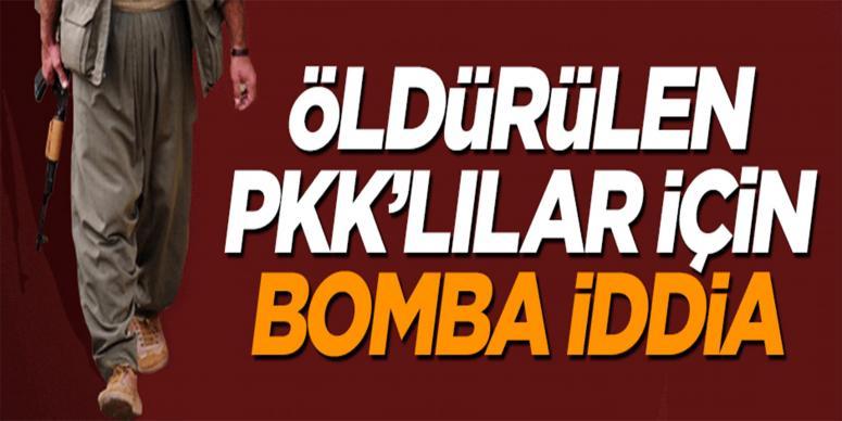 Teröröistler hakkında bomba iddia