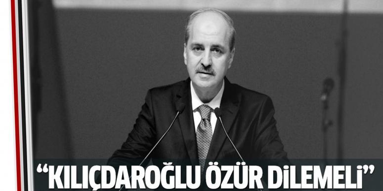 Kurtulmuş'tan CHP liderine tepki