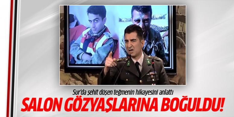 Albay Şehit teğmenin hikayesini anlattı!