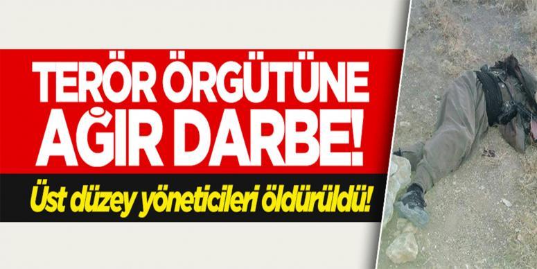 Tunceli'de üst düzey PKK'lılar öldürüldü!
