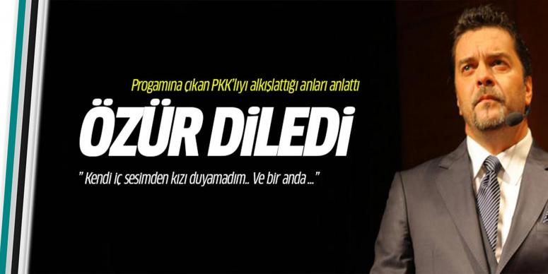 Beyazıt Öztürk PKK provokasyonu için özür diledi!