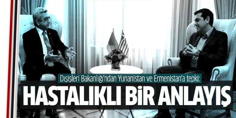 Yunanistan ve Ermenistan'a tepki