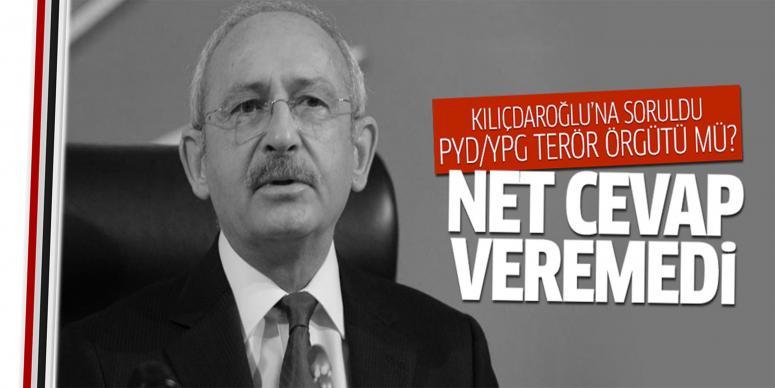 Kılıçdaroğlu YPG sorusuna net cevap vermedi