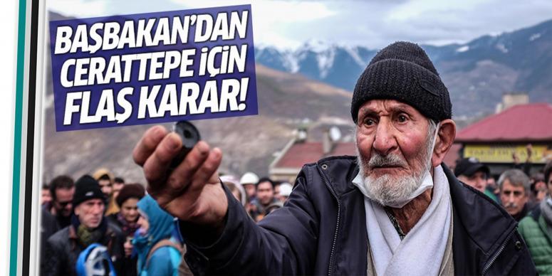 Davutoğlu'dan 'Cerattepe' için flaş karar